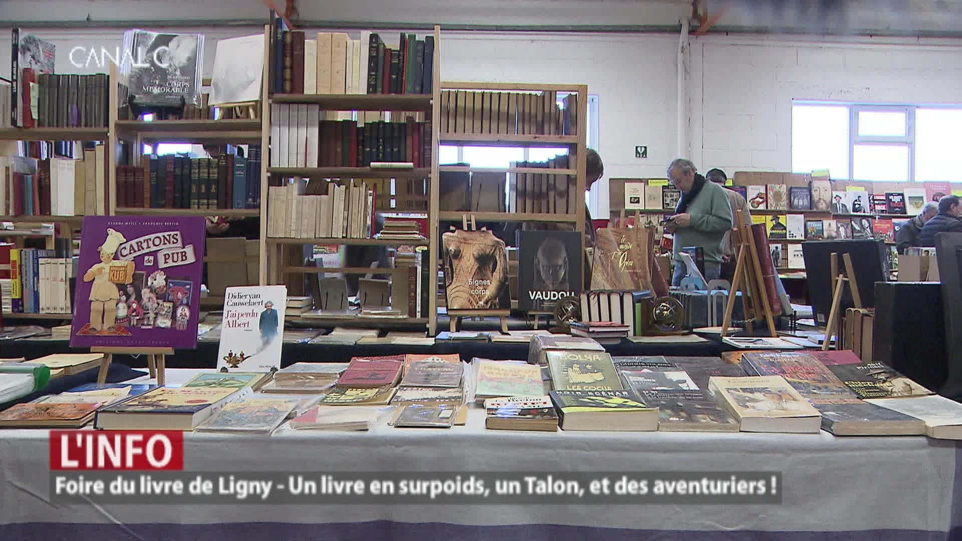 Foire du livre de Ligny : une mine d'or pour les amateurs !