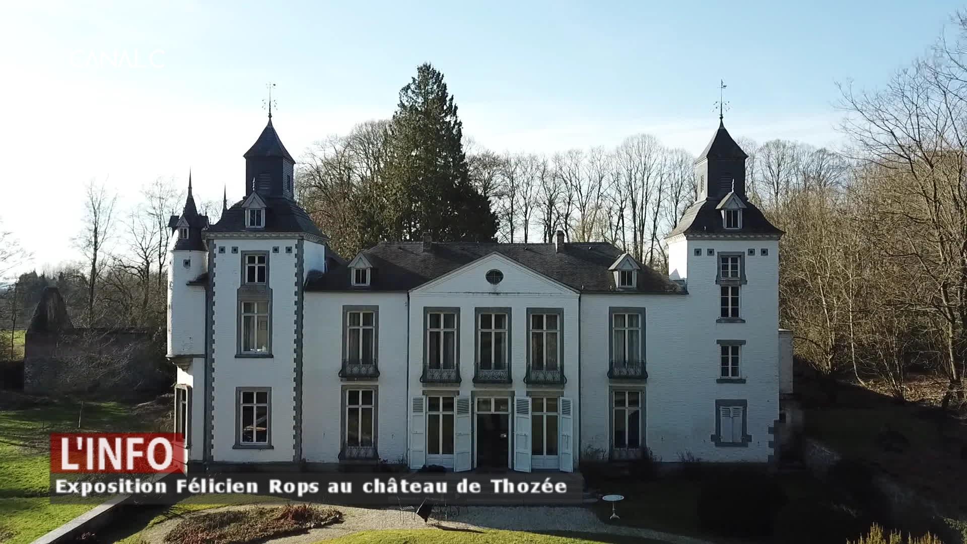 Le fantôme de Félicien Rops continue de hanter le château de Thozée