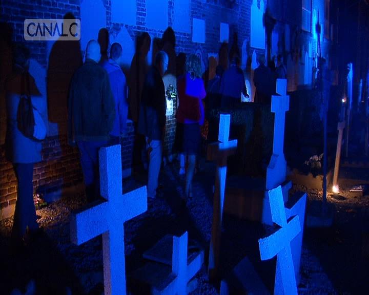 Visite nocturne au cimetière