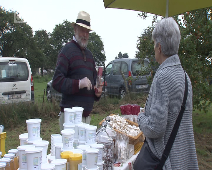 Produits locaux à l'honneur à la Fête des vergers