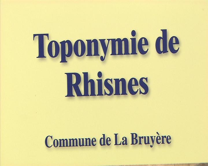L'histoire de Rhisnes par sa toponymie