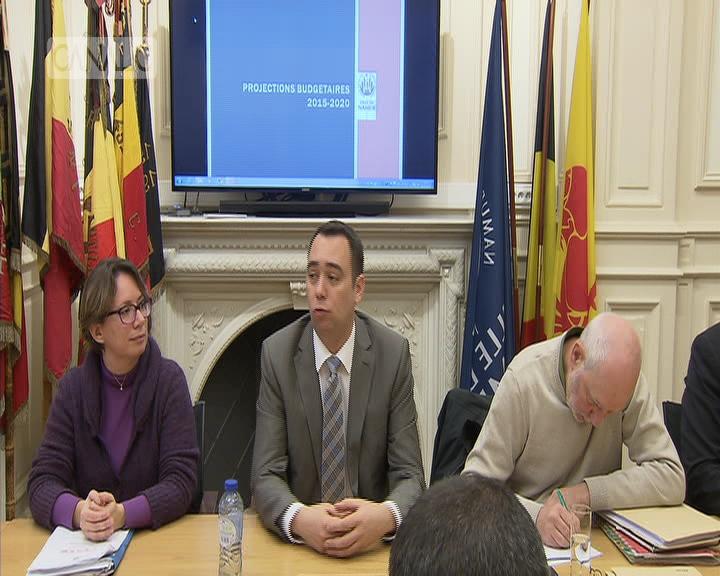 Namur: un budget sous le signe de l'austérité