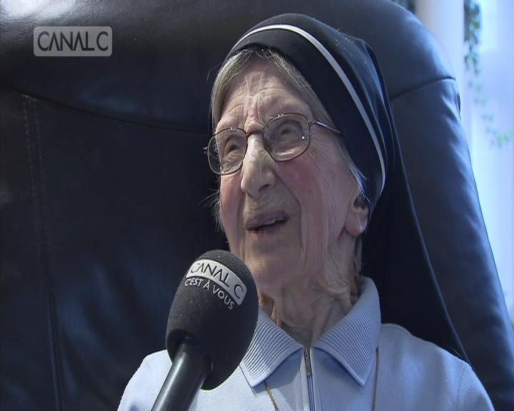 Soeur Marie-Thérèse: 101 ans et des souvenirs
