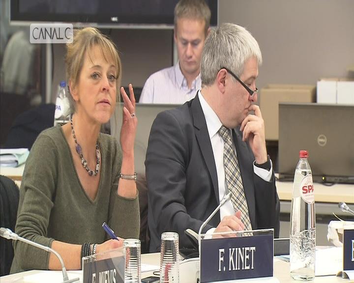 Namur: Françoise Kinet exclue du groupe MR