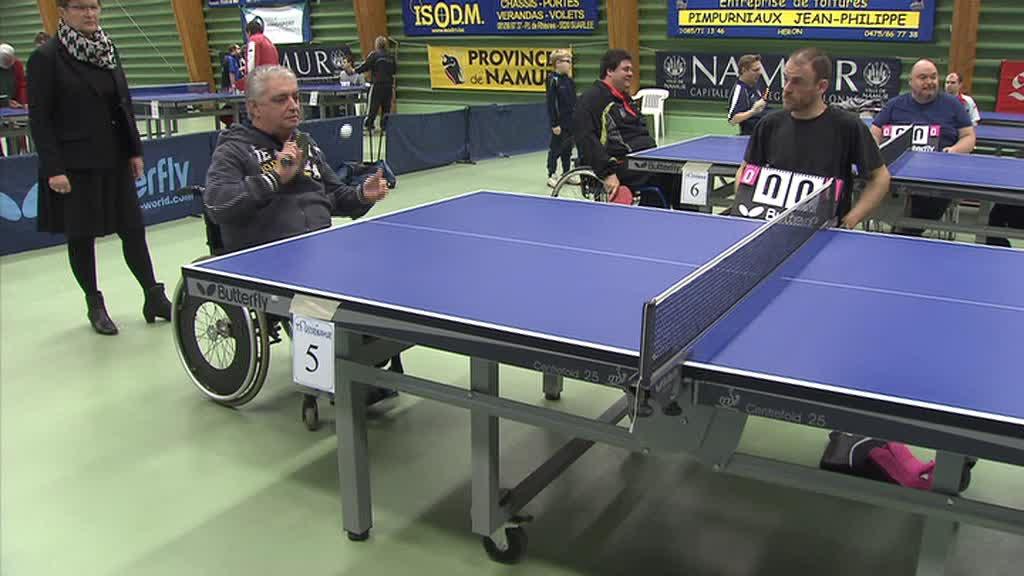 Handi tennis de table r sultats tt canal c votre - Resultat tennis de table hainaut ...