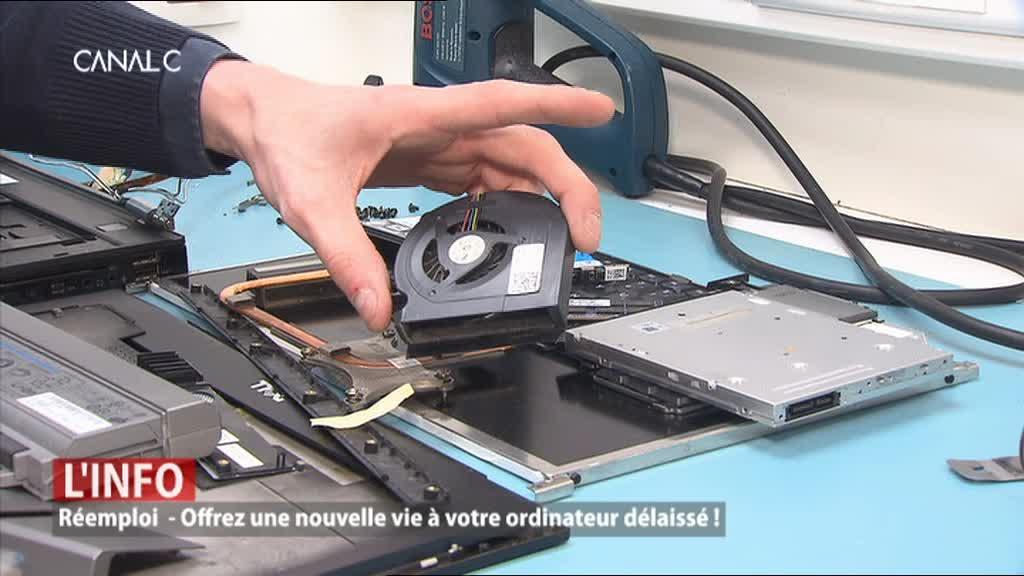 Namur - Mister Genius donne une nouvelle vie à vos ordinateurs !