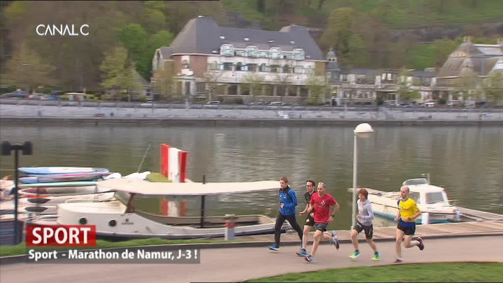 Présentation du Marathon de Namur