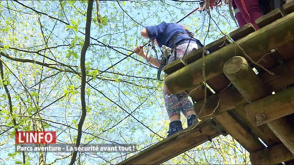 Cerfontaine - Une formation unique en Belgique pour les moniteurs de parcours aventure