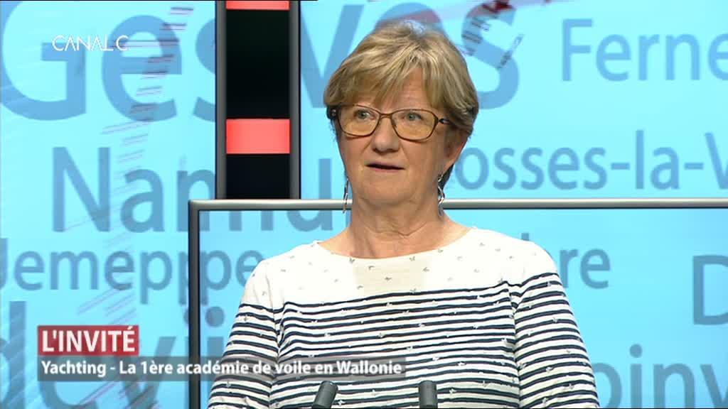 Notre invitée: Marie-Blanche Wiame-Rouchet, présidente de la Fédération francophone de yachting belge