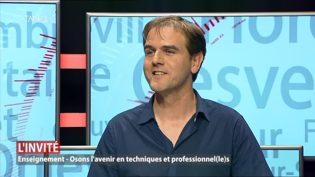 Olivier Losseau, responsable de l'ADL de la Ville de Walcourt