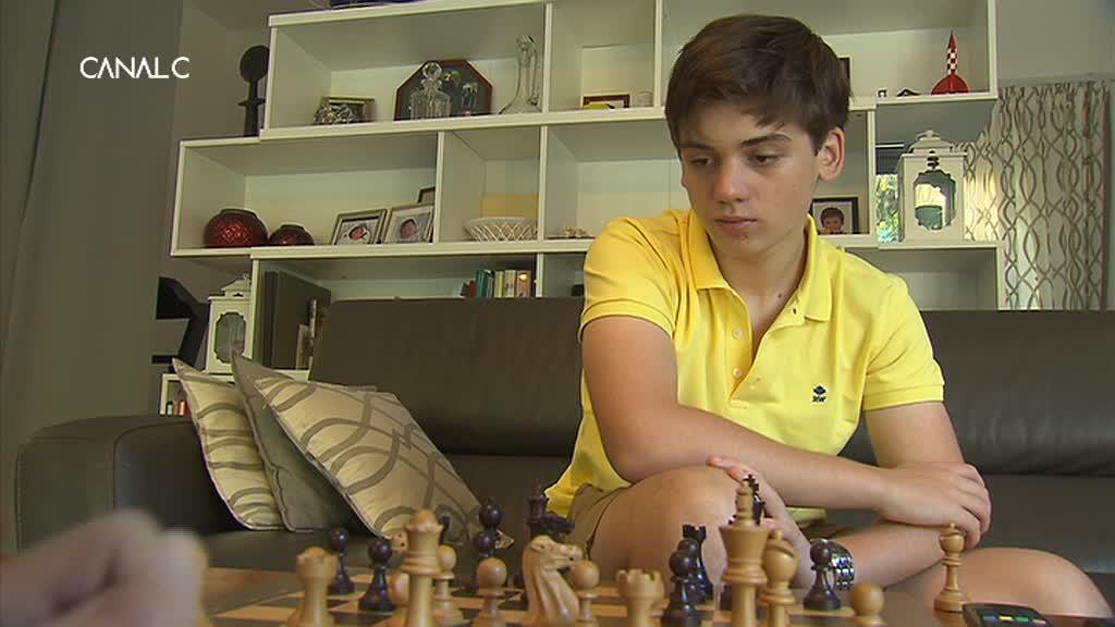 Un jeune namurois au championnat du monde d'échecs !