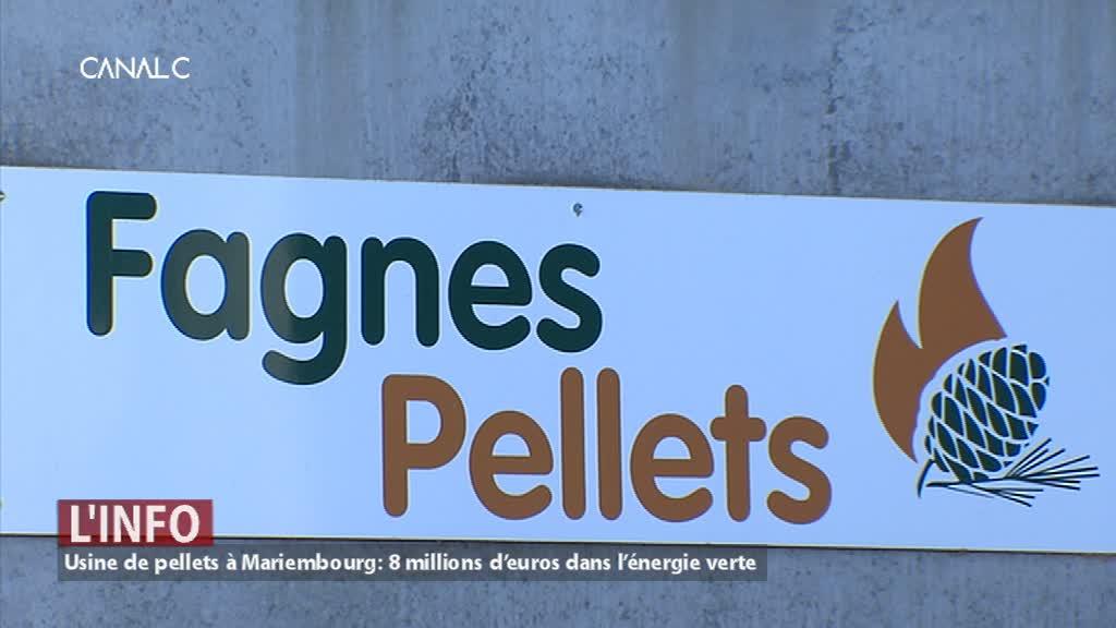 8 millions d'euros pour « Fagnes pellets » à Mariembourg