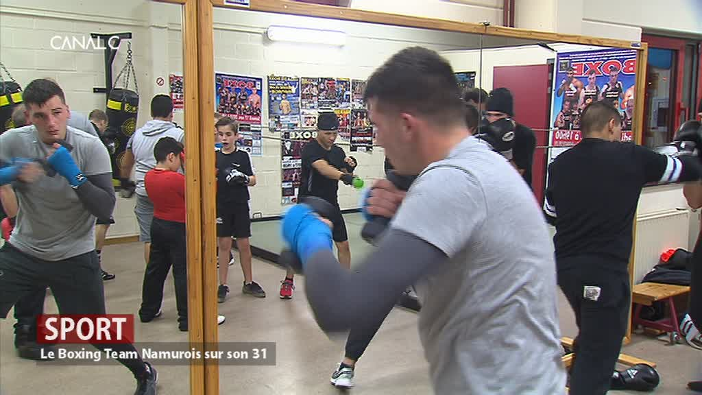 Le Boxing Team Namurois sur son 31