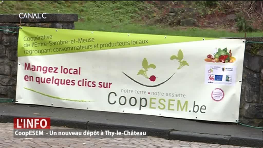 Walcourt : CoopESEM ouvre un nouveau dépôt à Thy-le-Chateau