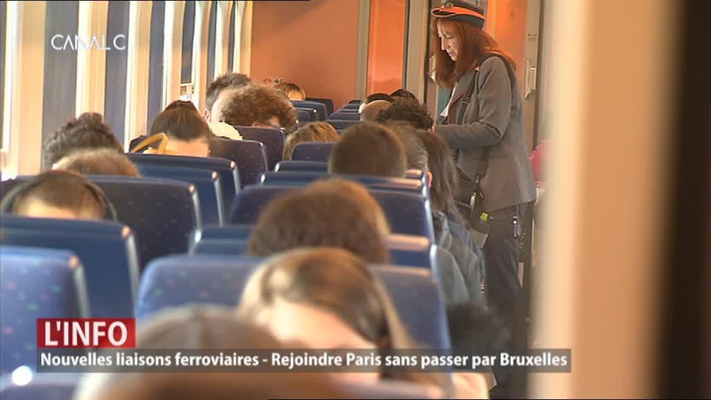 Nouvelles liaisons ferroviaires entre Namur et Paris : plus besoin de passer par Bruxelles !