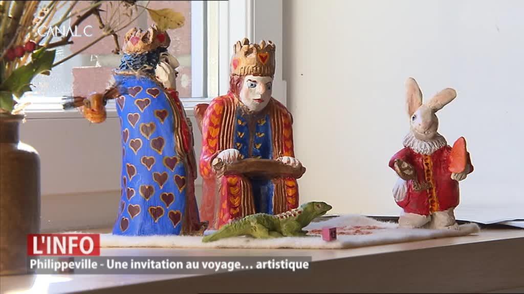 Philippeville : 3e salon d'automne d'Omezée