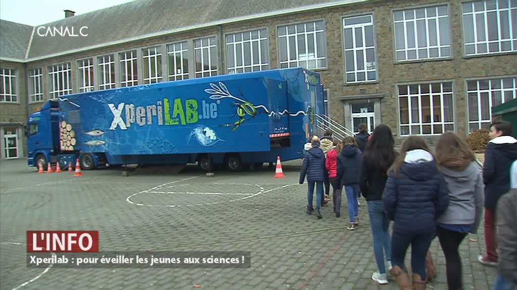 Xperilab, le camion scientifique qui va à la rencontre des jeunes !