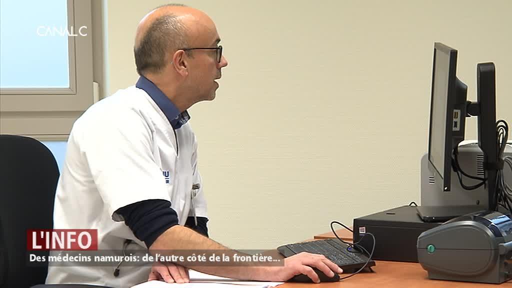Des médecins namurois consultent à Givet