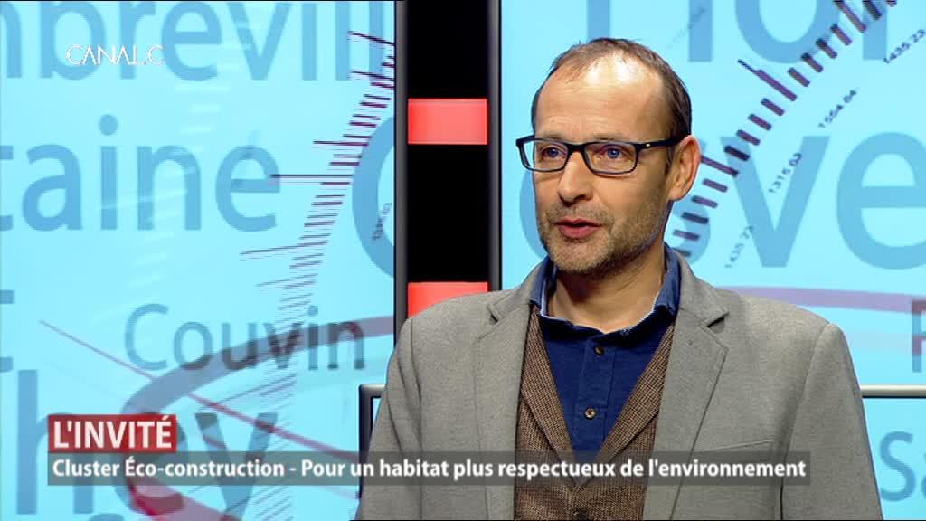 Notre invité: Hervé-Jacques Poskin, directeur du Cluster éco-construction