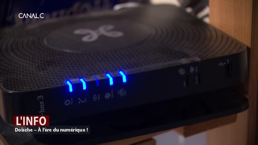 Doische – La fibre optique arrive dans les foyers