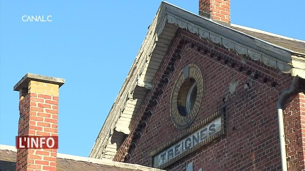 Des logements et un espace inter-services occuperont bientôt la gare de Treignes