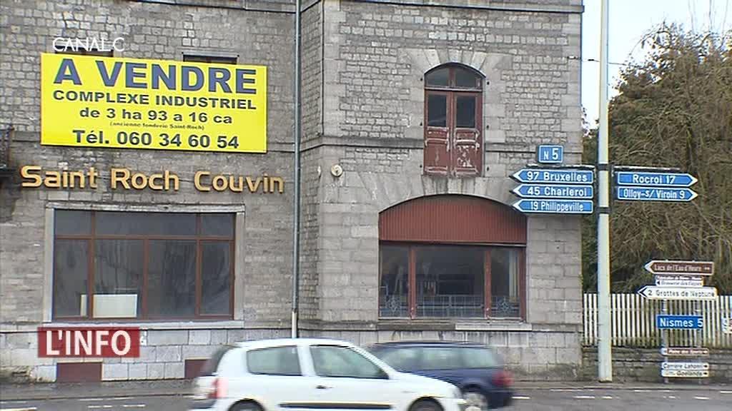 Couvin : Le site de l'usine Saint-Roch est à vendre