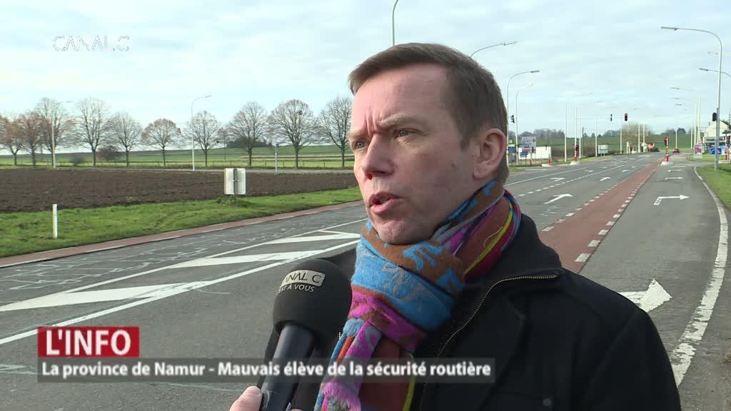 Namur, le mauvais élève sur les routes