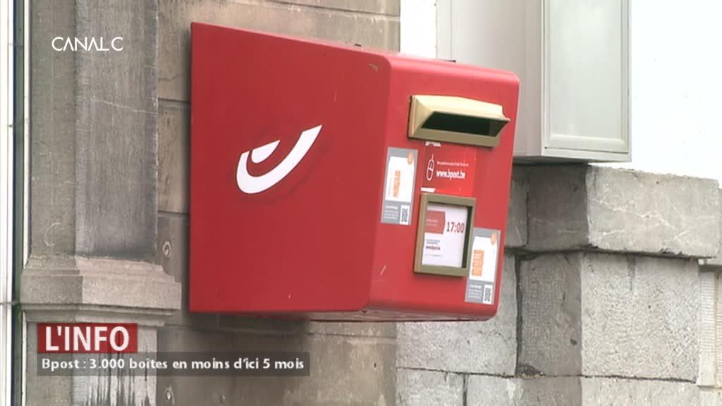 Walcourt : 13 boîtes aux lettres rouges supprimées