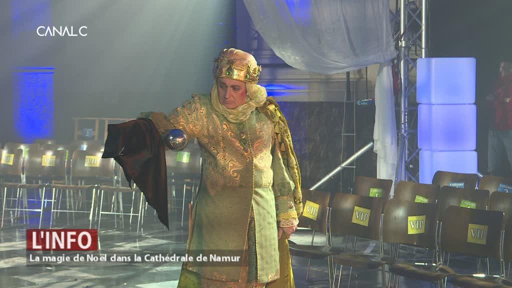 Suivez les Rois Mages dans la Cathédrale Saint-Aubain