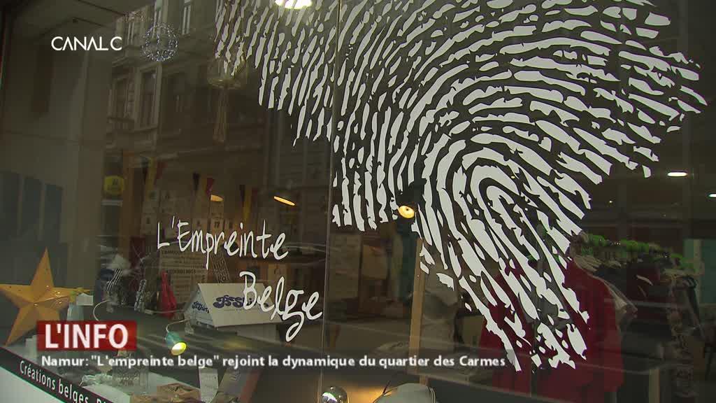 """Namur: """"L'empreinte belge"""" rejoint la dynamique du quartier des Carmes"""