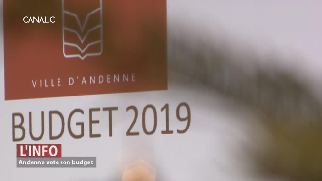 ANDENNE: Le premier budget de la législature est sur les rails