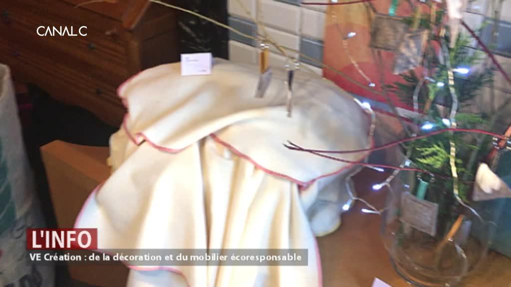 Cerfontaine : Elle a créé une ligne de design écoresponsable