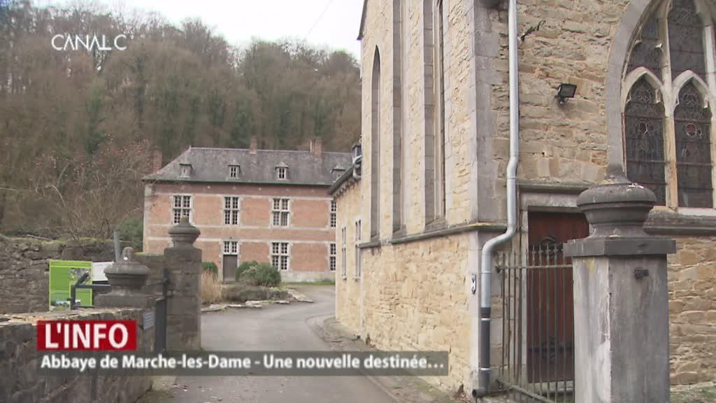 Une nouvelle destinée pour l'abbaye de Marche-les-Dames