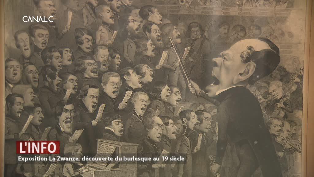 Exposition La Zwanze: découverte du burlesque au 19 siècle au Musée Rops