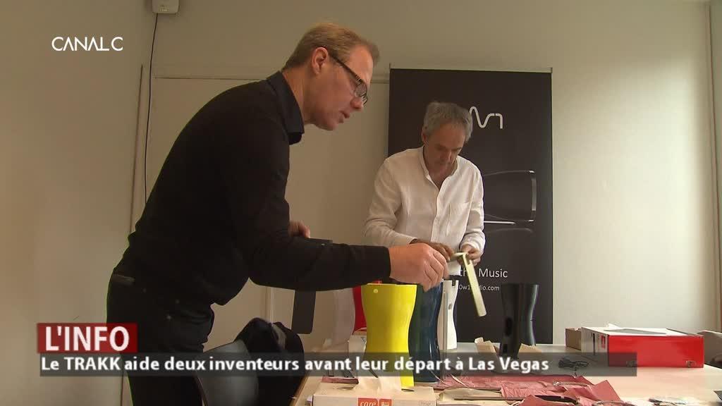 Salon des inventions à Vegas : deux Namurois soutenus par le TRAKK !
