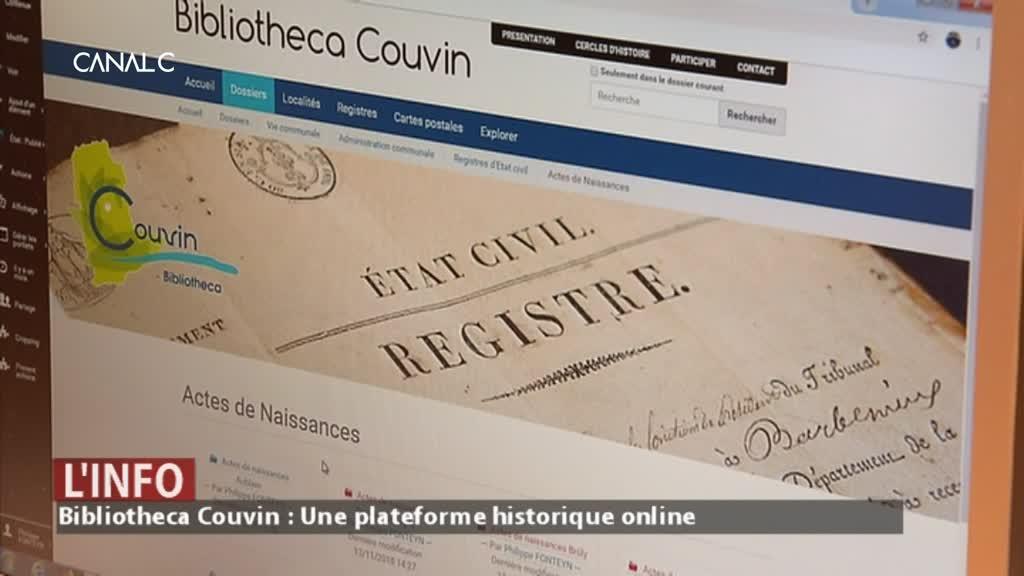 Couvin : une plateforme historique online