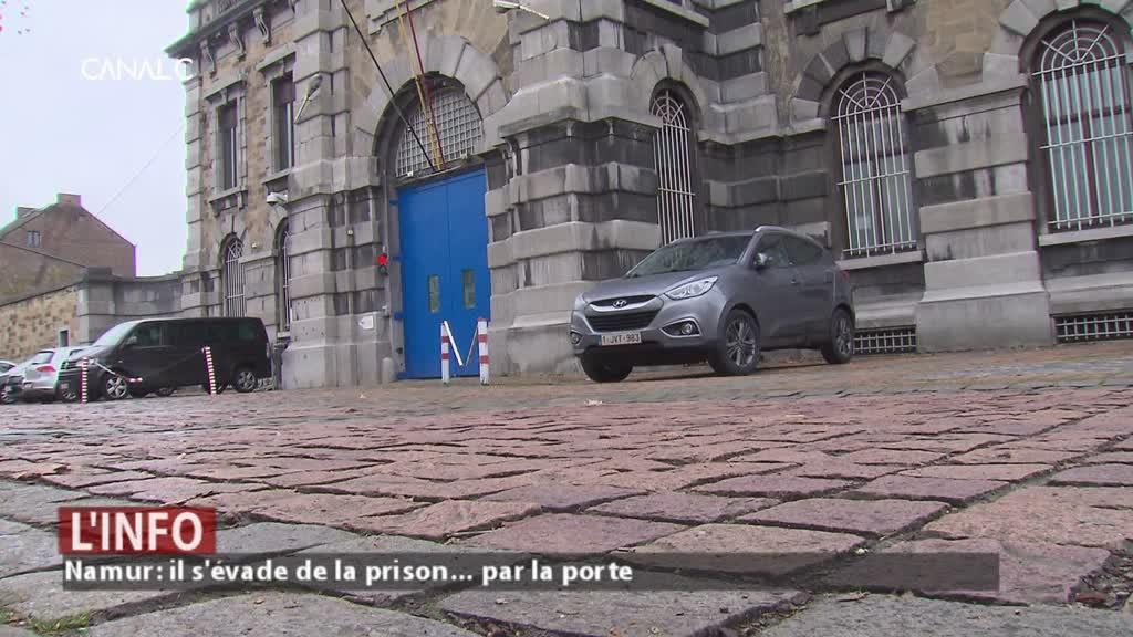 Un détenu s'échappe facilement de la prison...