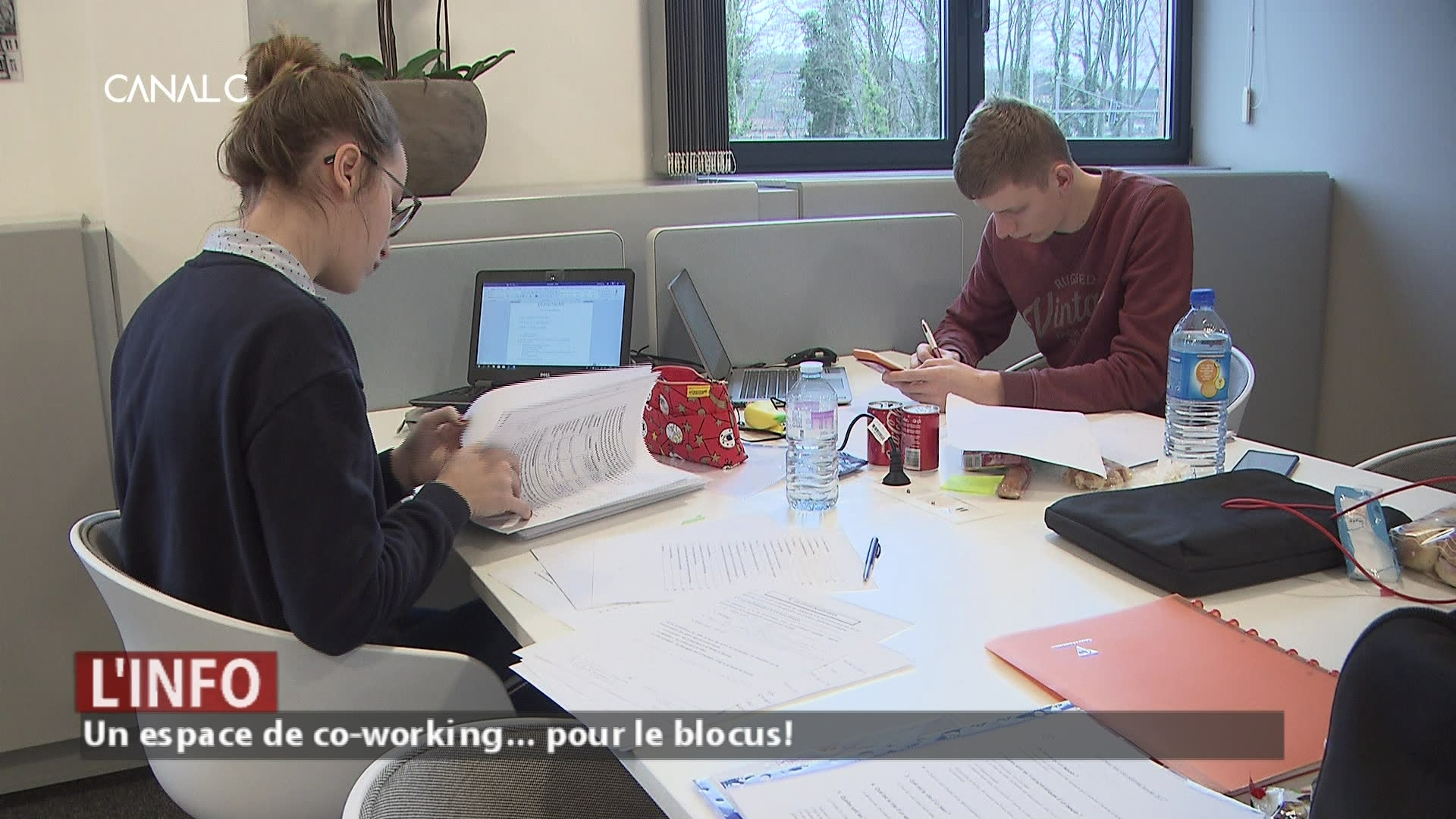Blocus: le Centre de co-working REGUS accueille les étudiants