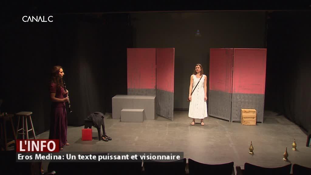 Eros Medina, un thriller dans les rues de Marrakech, au Théâtre Jardin Passion à Namur