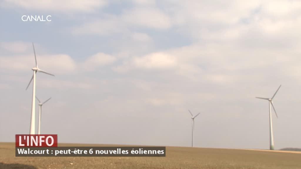Walcourt : peut-être bientôt six nouvelles éoliennes