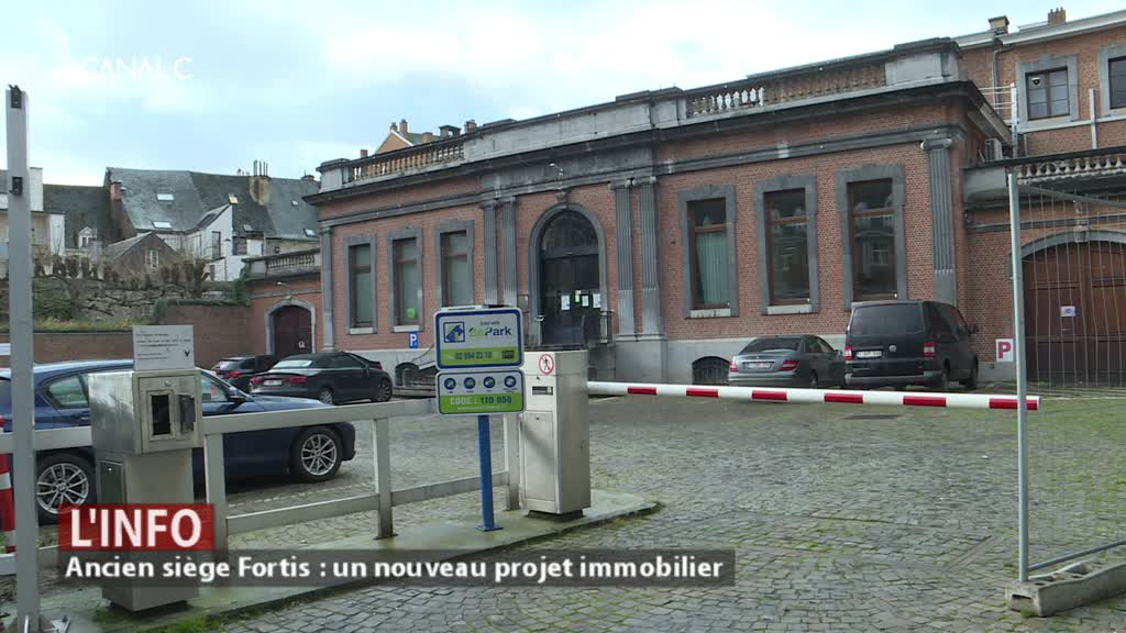 Ancien siège Fortis : un nouveau projet immobilier en cœur de ville