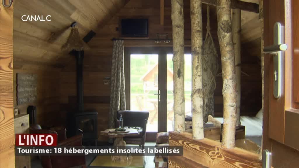 Tourisme: 18 hébergements insolites labellisés