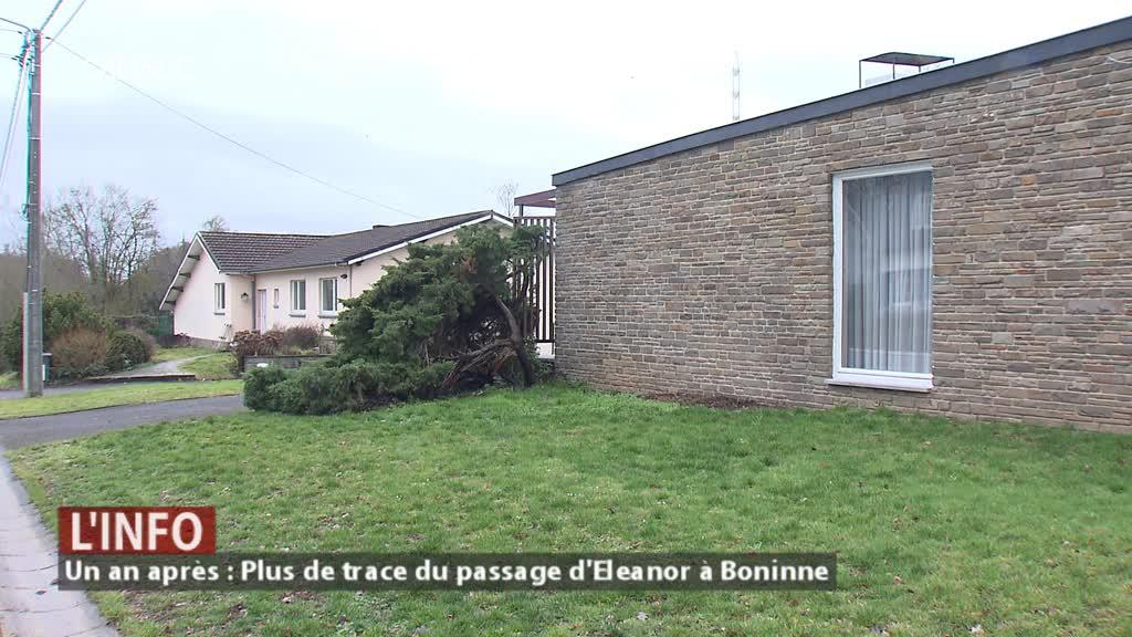 Un an après : Plus aucune trace du passage d'Eleanor à Boninne