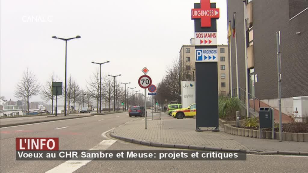 Voeux au CHR Sambre et Meuse : des projets louangés, des attitudes critiquées !