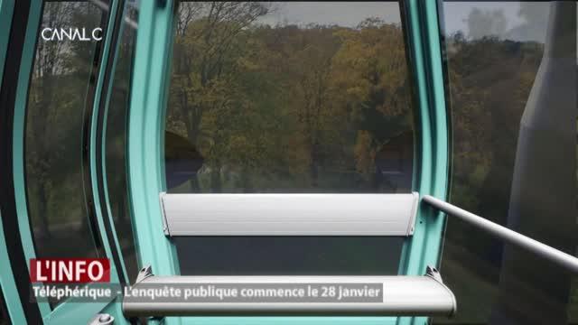 Téléphérique: L'enquête publique commence le 28 janvier