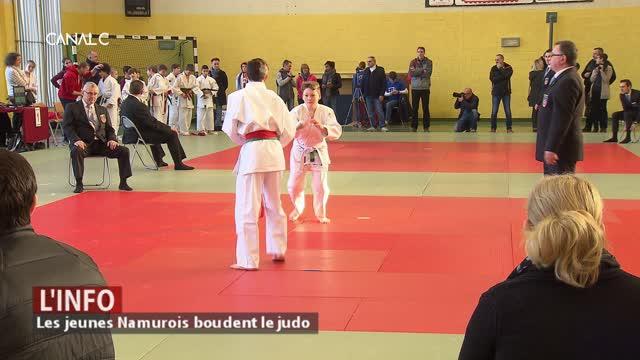 Les jeunes Namurois boudent le judo