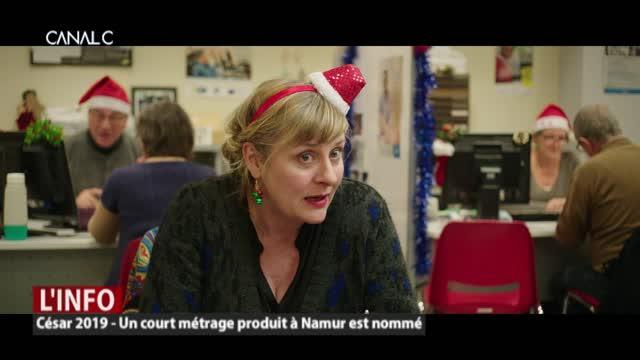 César 2019: Un court métrage produit a Namur est nommé.