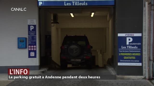 Opération de séduction pour le parking du centre à Andenne