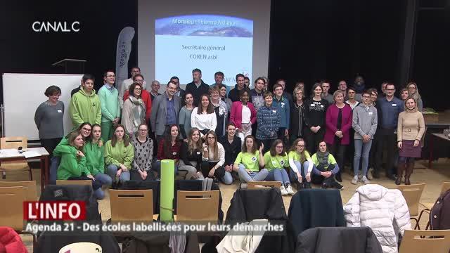 Label 21 : récompense pour des écoles soucieuses du développement durable !