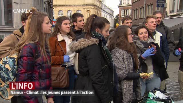 Climat: les jeunes passent à l'action